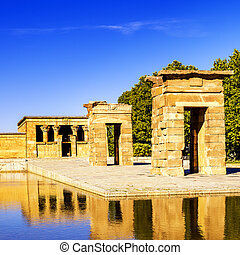Temple of Debod Madrid - Temple of Debod Egyptian antic...