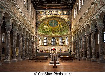 Basilica of Saint Apollinaris in Classe, Emilia-Romagna,...