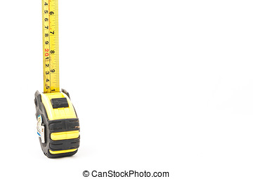 tape measure in isolated