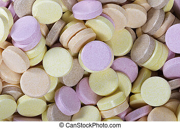 Colorful sherbet sweets to eat and as a background in...
