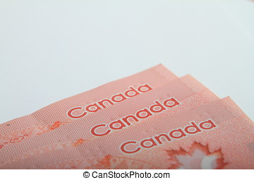 Fifth Dollar Notes of Canada - Set Canadian bills made of...