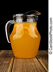 jug with orange juice