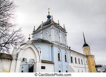 Novo Golutvin convent in Kolomna Kremlin Russia