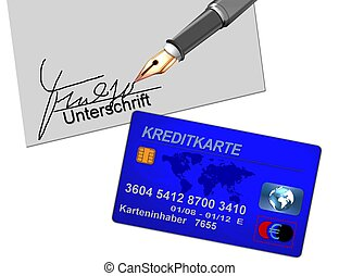 credit card contract