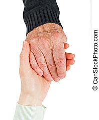 Helping hand - Find the right caregiver for your loved one