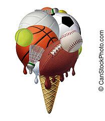 verano, deportes