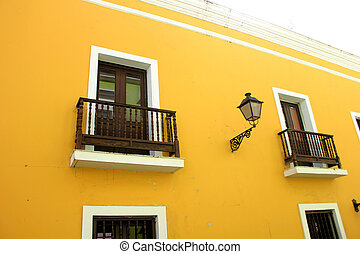 Streets of the Old City of San Juan