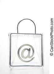 \'At\' Symbol In A Bag