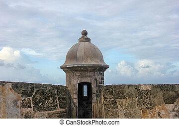 El Morro castle San Juan, Puerto R - Fort San Felipe del...