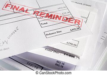 Final Reminder Bills