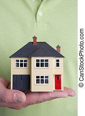 模型, 房子
