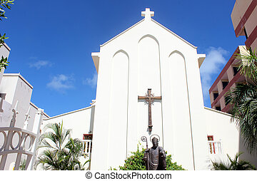 Church in St Maarten, Netherlands Antilles,west indies