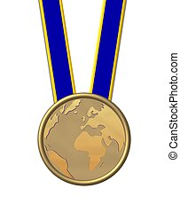 gold medal planet earth