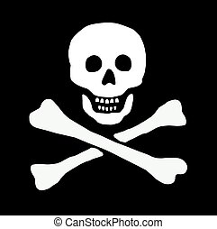 pirate skull sign