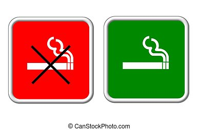 sign smoking allowed forbidden