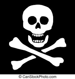 cráneo, señal