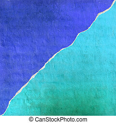 Blue and cyan concrete abstract background texture