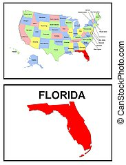 USA state of Florida