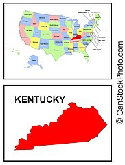 USA state of Kentucky