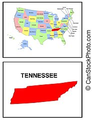USA state of Tennessee