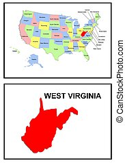 USA state of West Virginia
