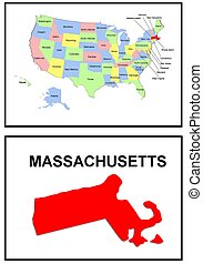 USA state of Massachusetts
