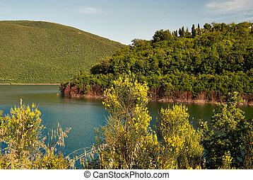 lake of mountain. Italy
