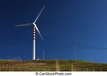Modern and ecologic generator - Modern and ecologic eolic...
