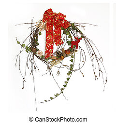 Chaplet - Christmas chaplet freshly prepared for end of year...