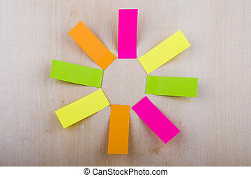 Blank Colorful Notes