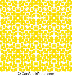 Modern geometric pattern with abstract shapes in bright...