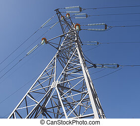 High voltage constraction - High voltage post metal...