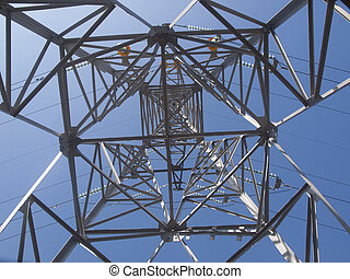 High voltage post constraction - High voltage post metal...