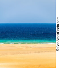Atlantic ocean coast, fuerteventura, canary