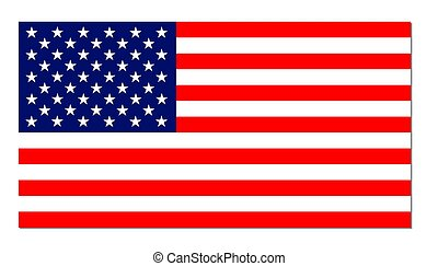 USA stars & stripes banner