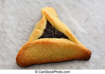 Hamentashen Ozen Haman Purim cookies - One backed...