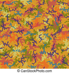 Seamless Trippy Camo Pattern