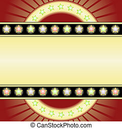 yellow background - yellow and red background with neons and...