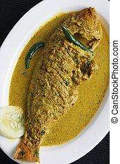 Maacher jhol - a Bengali Fish Curry - Macher jhol is a light...