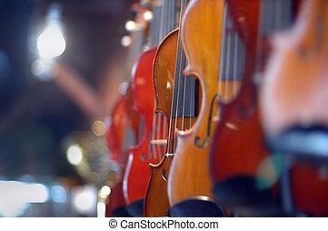 Violines, para, venta