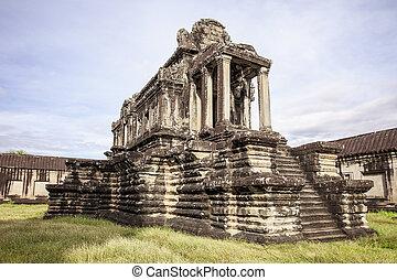 Library Building At Angkor Wat
