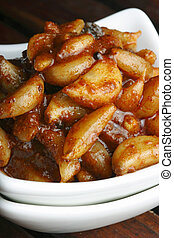 Garlic Pickle - A popular Indian pickle made of Garlic or...