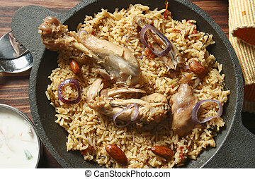Ahmedi Biryani-An Indian rice dish - Ahmedi Biryani - Ahmedi...