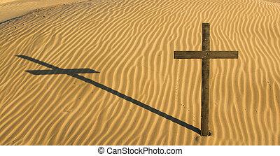 Cross Sand Shadow