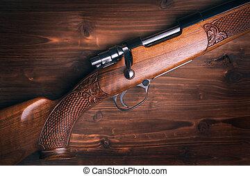 escopeta, de madera, Plano de fondo