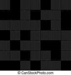 Vector black squares background