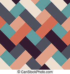 Retro style abstract stripes background. Vector EPS10