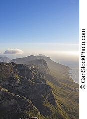 Twelve Apostles seen from Table Mountain 1 - The Twelve...
