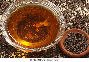 Mustard oil is used for an oil made by infusing mustard seed...