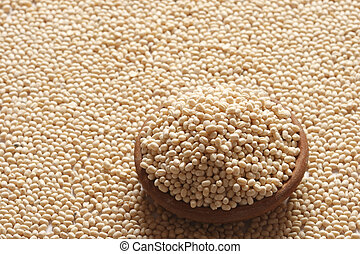 Urad Dal A lentil commonly used in Indian recipes - Urad Dal...